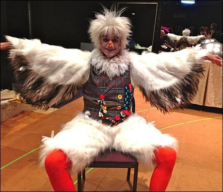 Little Mermaid Costumes · Jack Doyle (Scuttle) is ready to fly!