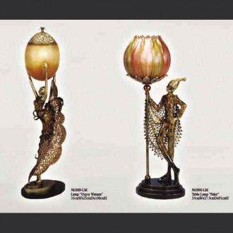 Настольные лампы Gypsy и Fakir