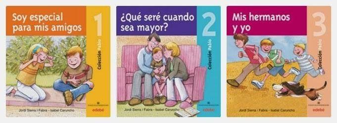 """""""Soy especial para mis amigos"""", """"¿Qué seré cuando sea mayor?"""" y """"Mis hermanos y yo"""" - Jordi Sierra i Fabra (Edebé y Fundación Catalana Síndrome de Down) #sindromededown"""