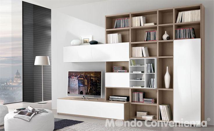 Soggiorni - Moderno - Vega - Mondo Convenienza - La nostra forza è il prezzo  Home  Pinterest  Il