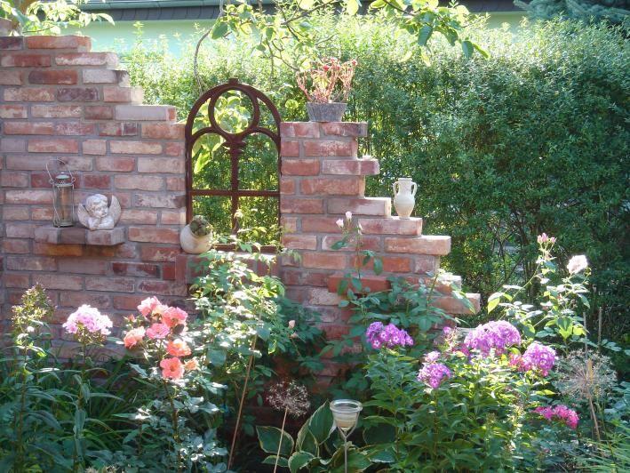 1000 bilder zu garten auf pinterest - Gartenmauer backstein ...