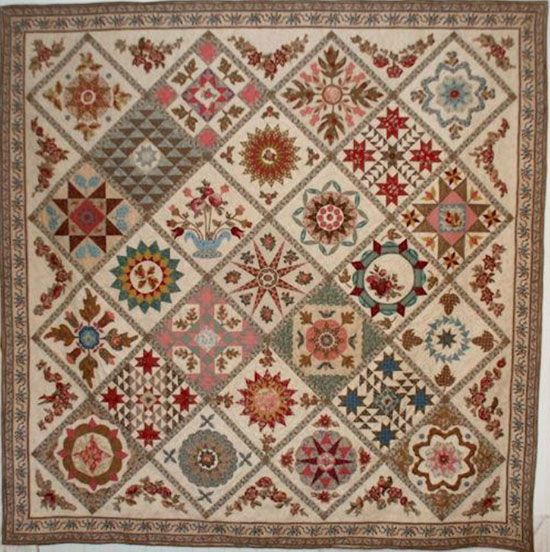 Antique-wedding-sampler by Di Ford