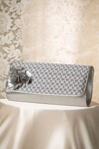 Ruby Shoo Florence in Pewter Clutch 210 92 16689 08242015 04W