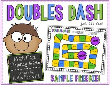 This is a FREE doubles game to practice addition doubles facts! All you need to do is print and add dice! It's a simple game, and a GREAT way to get your students practicing those fast facts!This product is a SAMPLE of my larger product: Doubles & Doubles Plus One Fact Fluency GamesNeed more fact fluency games and activities?