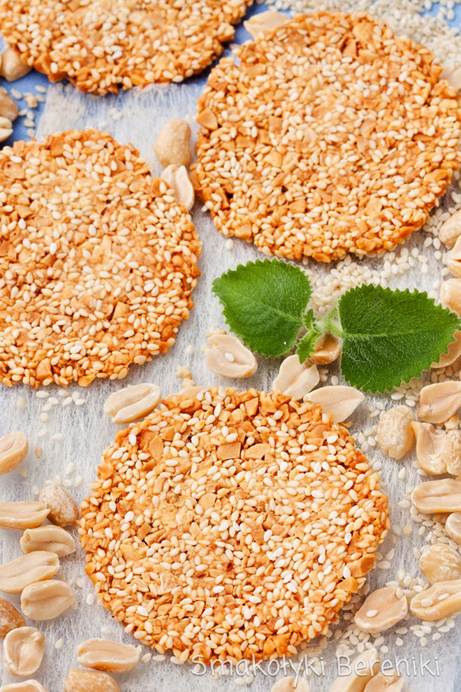 Ciastka sezamowe