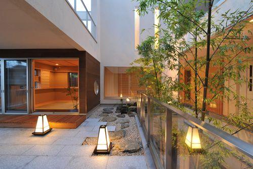 東京世田谷区の中庭のある和モダンの家[東京/神奈川の注文住宅]