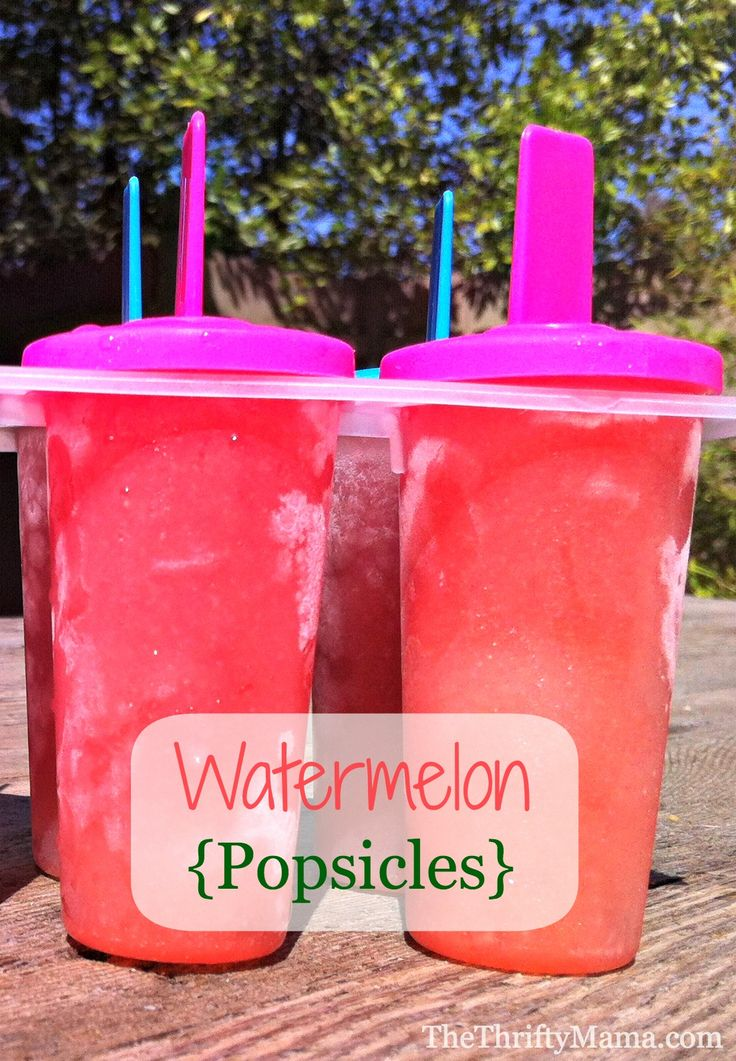 watermelon popsicles Make Your Own Healthy, Delicious Watermelon Popsicles At Home
