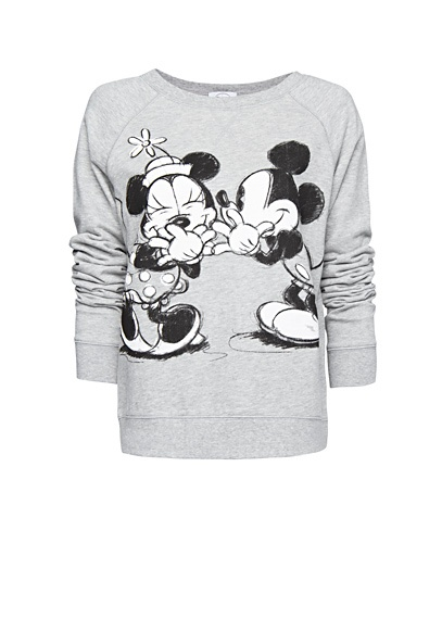 Disney sweatshirt - for Disneyland trips <3  (Not necessarily this one... but an oversized vintage looking one)    (medium)