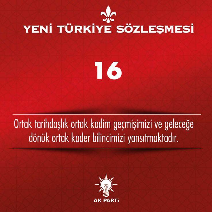 16.Madde, #YeniTürkiyeSözleşmesi