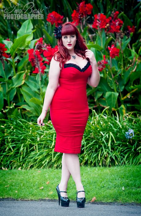 Stunning Teer Wayde - plus size model from Australia