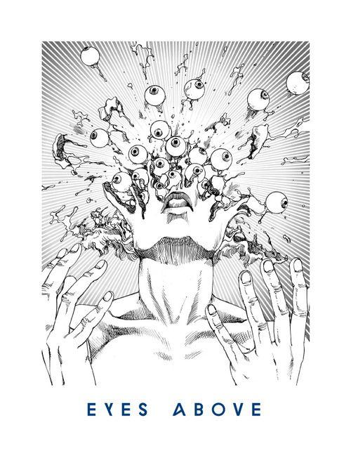 13 EYES ABOVE 'You're Dead!' Flying Lotus artwork by Shintaro Kago