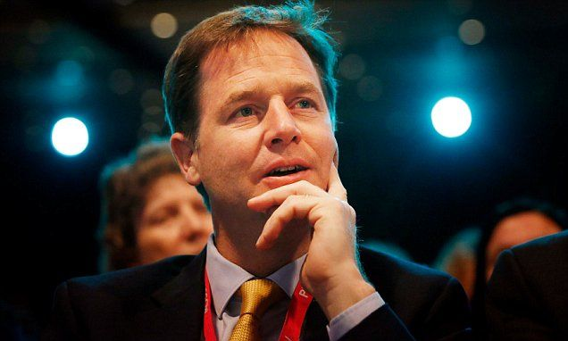Worthless Knighthoods to Worthless Parasites Nick Clegg receives a knighthood for his five years as deputy PM
