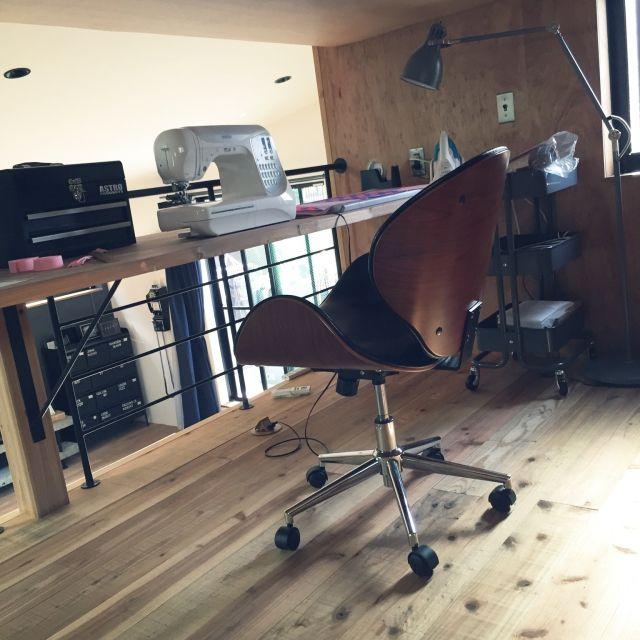 IKEA/ミシンコーナー/杉の床/インスタメインになっちゃった/ネタがない…などのインテリア実例 - 2015-03-23 06:08:45 | RoomClip(ルームクリップ)