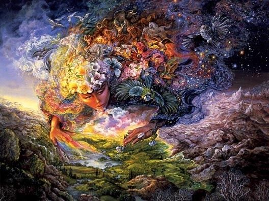 Josephine Wall- Breath of Gaia