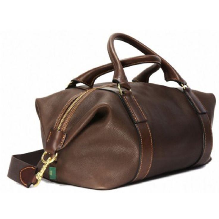 Brady Bags Captain's Leather Holdall, Chestnut