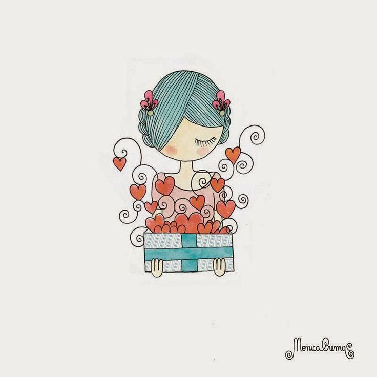 Uma porção de amor para você!