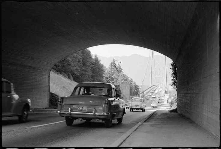Lions Gate Bridge - 1961