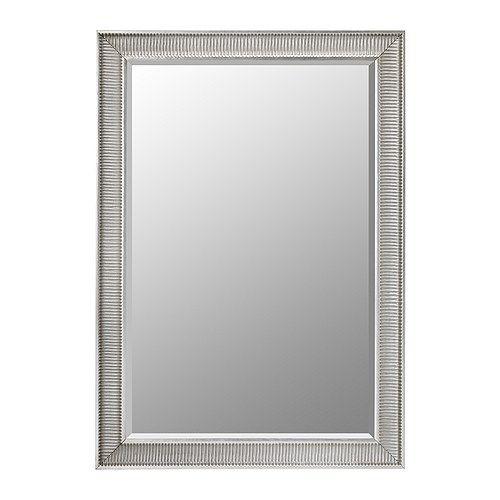 SONGE Miroir, couleur argent couleur argent 91x130 cm