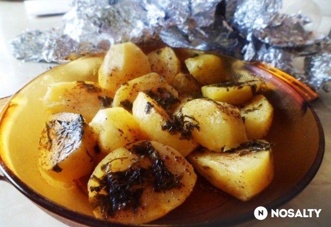 Sütőben készült puha burgonyaköret