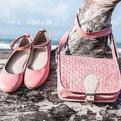 Обувь ручной работы. Ярмарка Мастеров - ручная работа Балетки из натуральной кожи . Балетки кожаные для лета ,  для осени. Handmade.