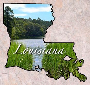 Louisiana Map Awesome America Louisiana Became The State To Enter The Union In 1812 Dates Of Statehood