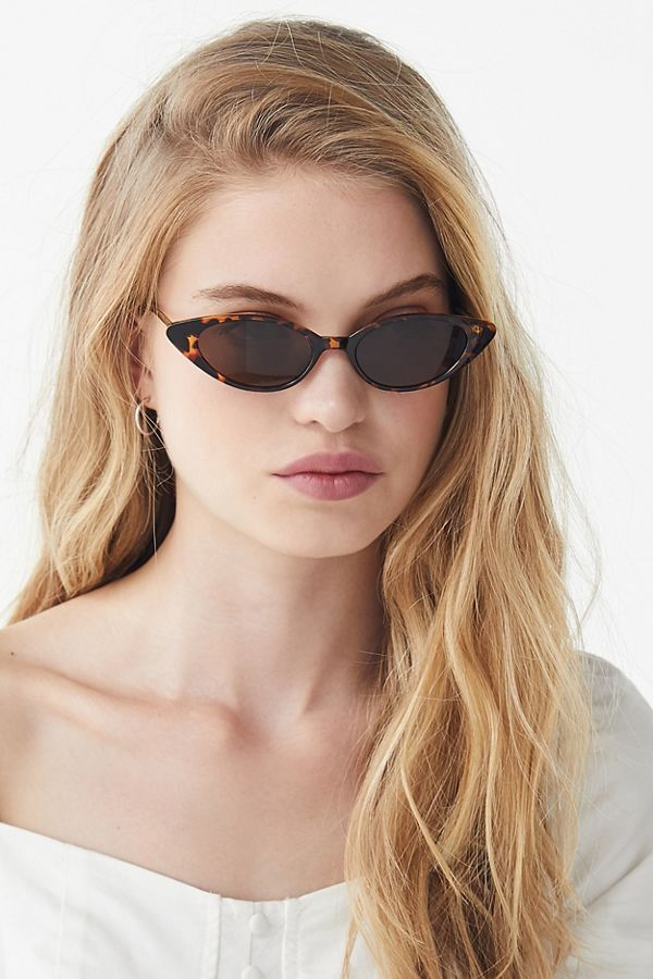 ca1f93fb5c Nova Slim Cat-Eye Sunglasses Keep it sleek + keep it classy in these cat