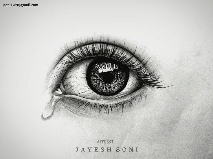 Title - Realism Eye Medium - Graphite lead Size - A4  Art by - jAYESH SONI hope U all like it..  #drawing #sketchbook #eyedrawing #realisticdrawing #realism #art #pencildrawing #artist #artistic #artpencil #artby #jayeshsonitattoo #bhopal #indianartist #india