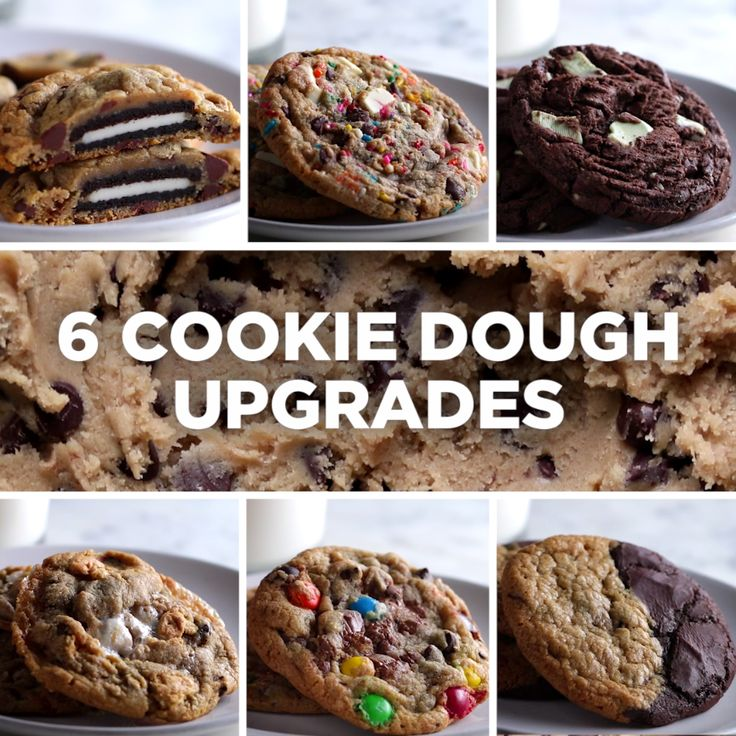 6 Cookie Dough Upgrades
