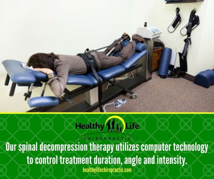 Our spinal decompression therapy utilizes computer technology to control treatment duration, angle and intensity.