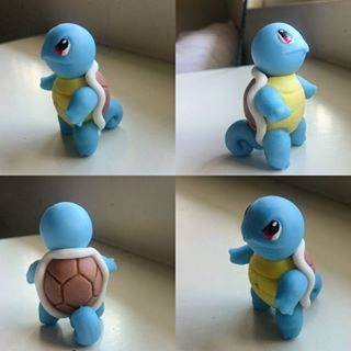 squirtle fondant - both adorable and cute! Can't go wrong with Poke'mon.