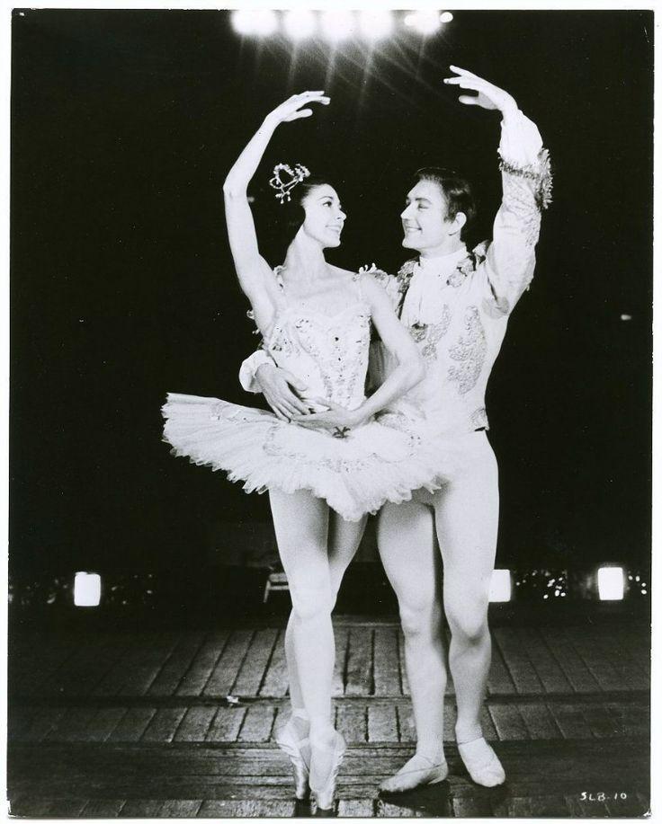 Margot FONTEYN.Марго Фонтейн с Дэвидом Блэром Королевский балет Великобритании