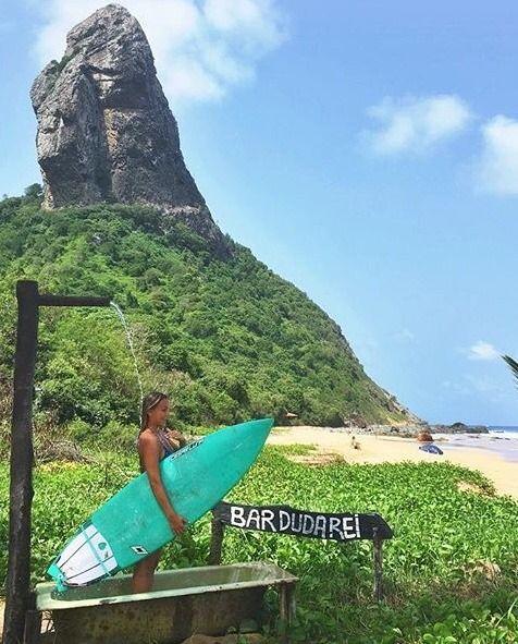 Bar Do Duda Rei Fernando De Noronha Brasil Surf Surfe Por