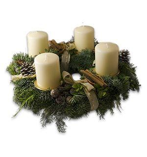 86 best adventskranz images on pinterest christmas. Black Bedroom Furniture Sets. Home Design Ideas