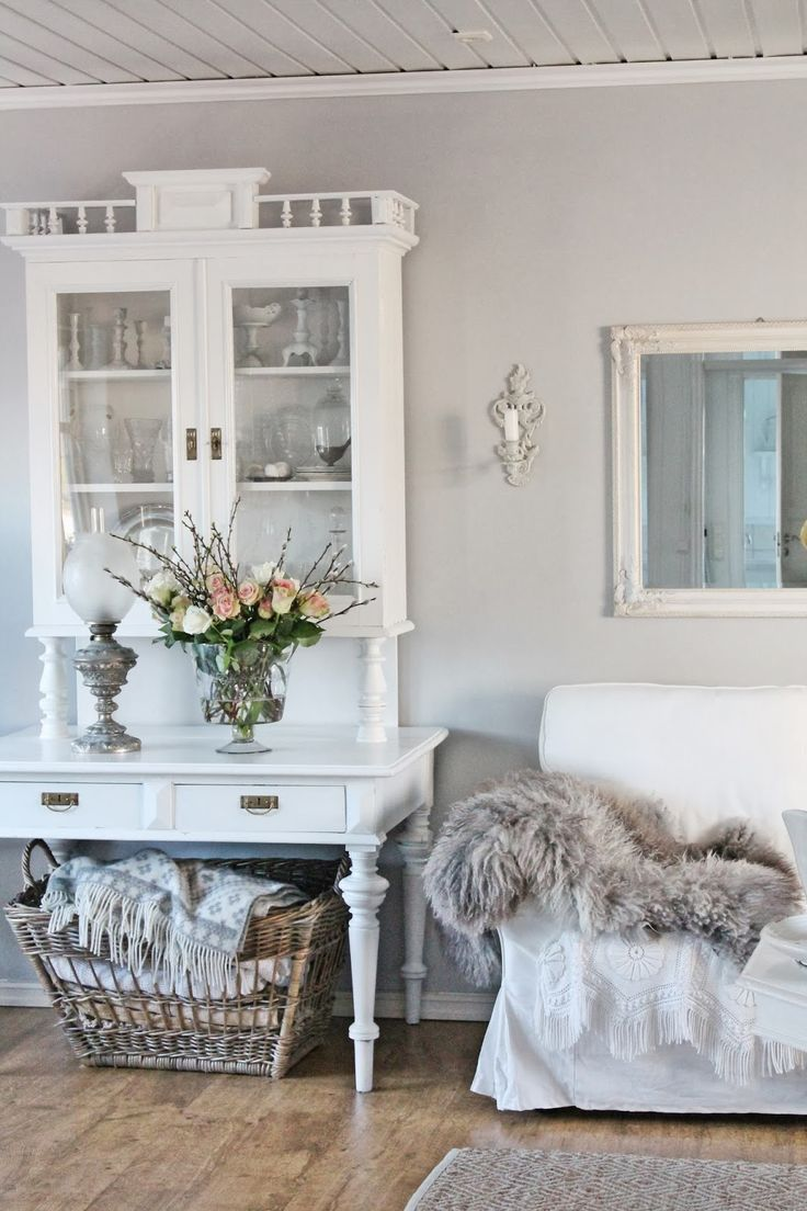 Shabby chic i like old furniture that has been refurbished modern and