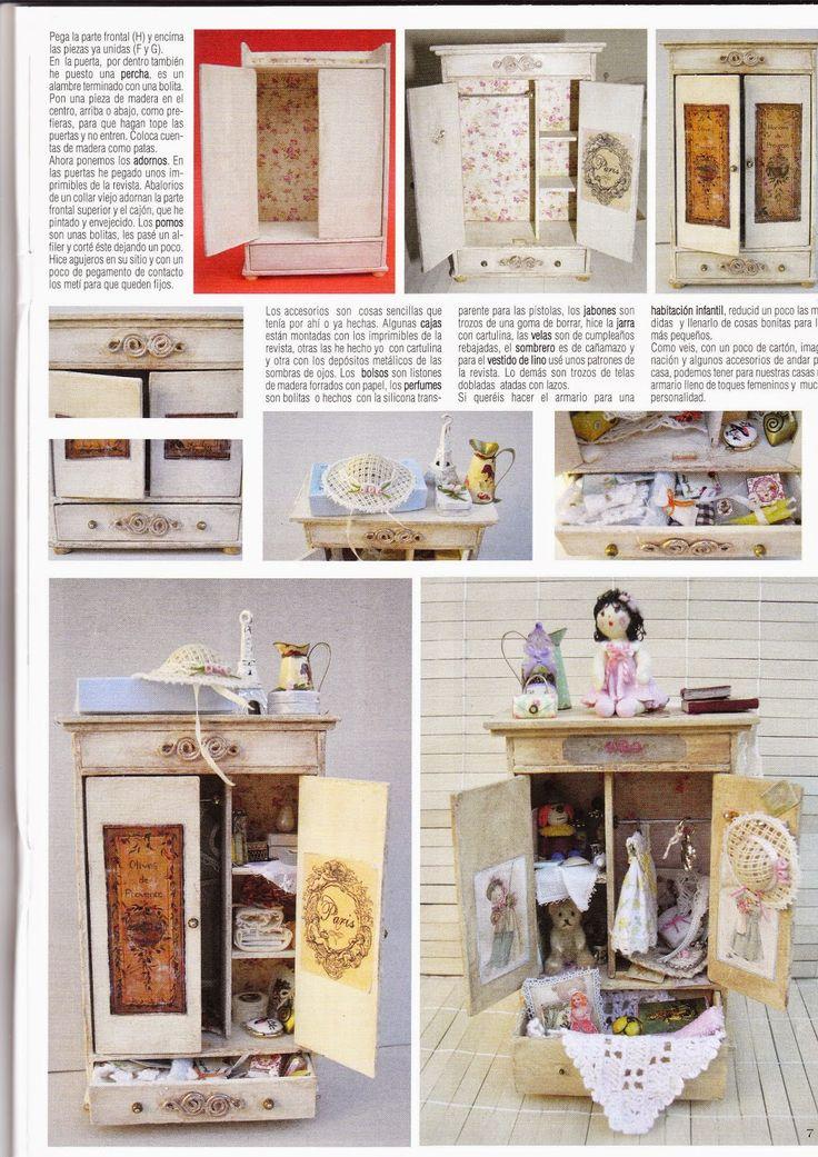 17 mejores ideas sobre Muebles En Miniatura en Pinterest ... - photo#27