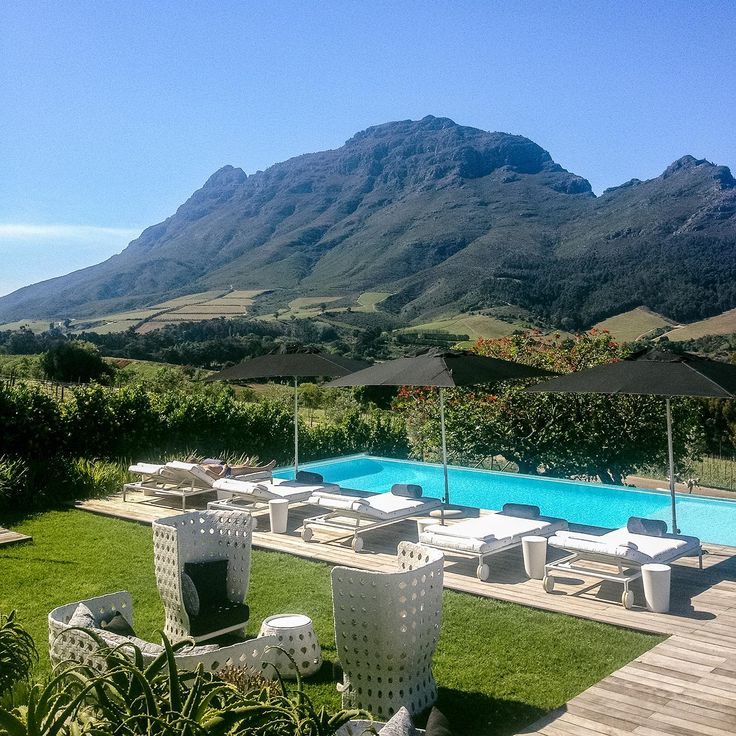 Clouds Estate, outside of Stellenbosch, near Cape Town, South Africa