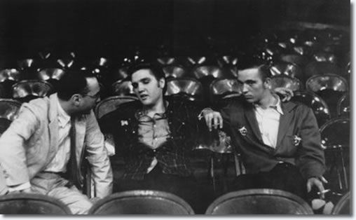 Elvis, Scotty, Bill and DJ performed two shows at the UD Fieldhouse in Dayton, OH  : May 27, 1956 - |    Elvis interviewed between shows with Gene Smith - May 27, 1956