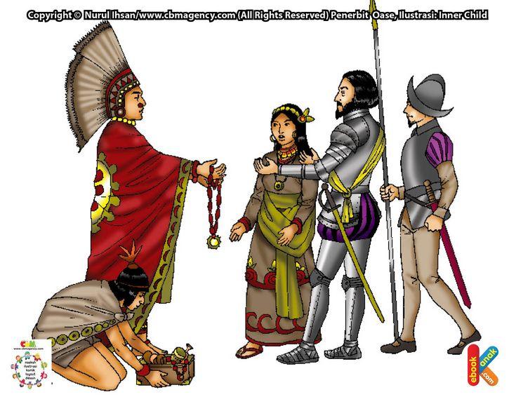 Hernan Cortes Penakluk Meksiko