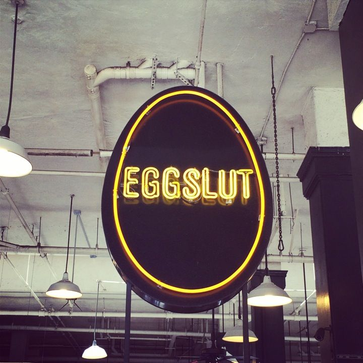 Eggslut | Grand Central Market, downtown  Los Angeles, California