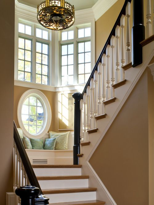 Catchy Staircase Window Ideas Houzz Windows Design Remodel Pictures Stairs In 2019 Room Furniture Living Designs