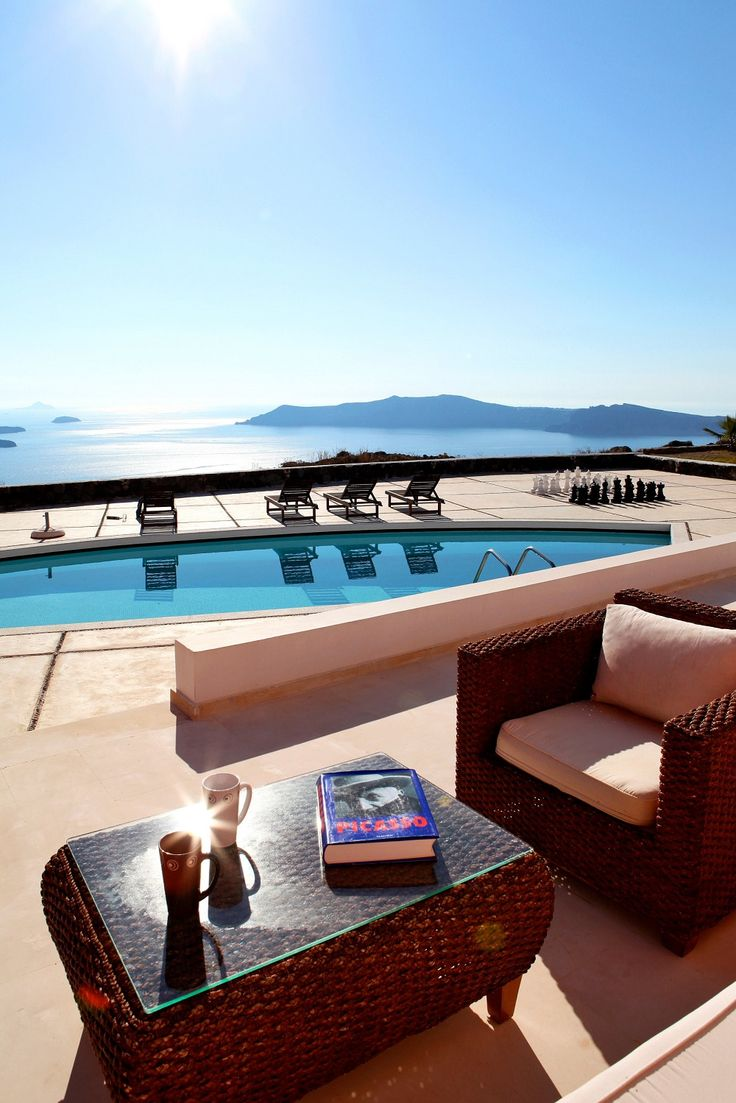 Enjoy the sun in Santorini Why Wait? #whywaittravels #traveldesigner 866-680-3211