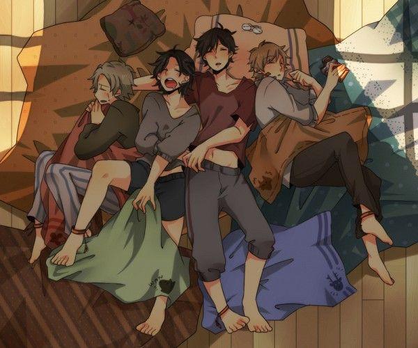Harry+Potter+Marauders | Harry Potter Anime Marauders