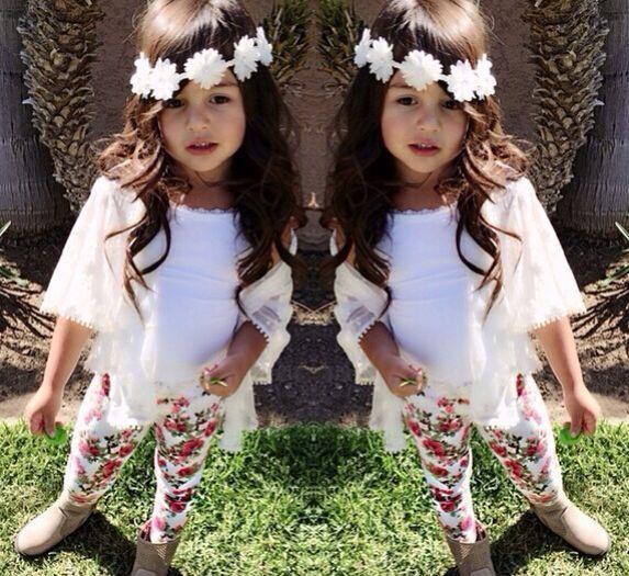 Wholesale Wholesale Kids's Wear China Girls Boutique Clothing 3 Pcs Sets White Vest + Coat+Pants - Alibaba.com