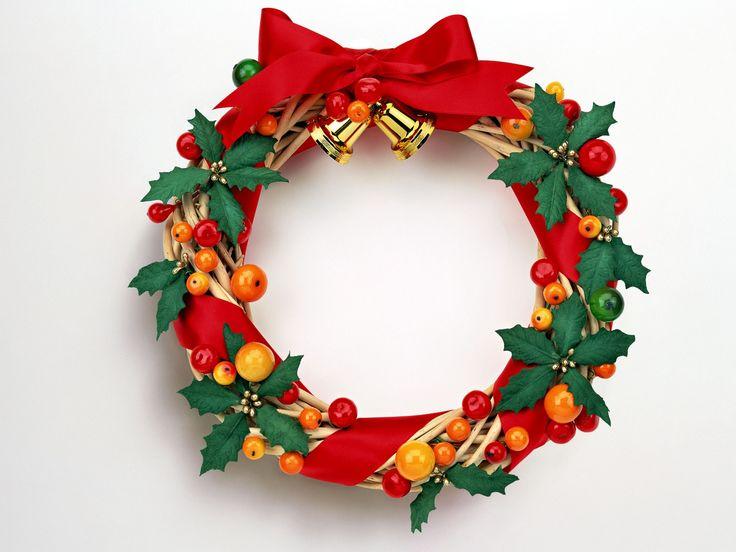christmas wreaths hd wallpapers para