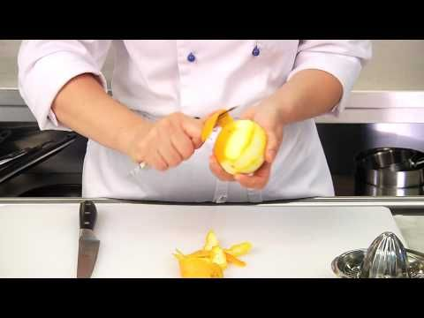 Making Orange sauce for duck roast - YouTube