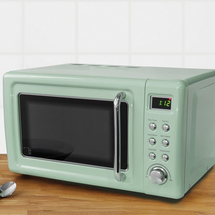 Retro Pink Digital 20L 800W Microwave Matching Toaster And Kettle Available