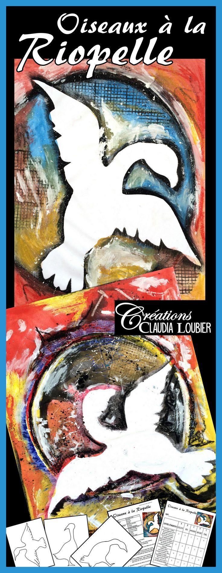 Voici un projet à la manière d'un grand artistequébécois: Riopelle ! Pour…