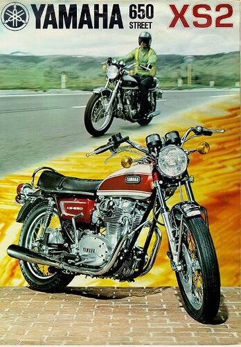 233 best dream bike custom images on pinterest vintage yamaha xs 2 ad fandeluxe Image collections