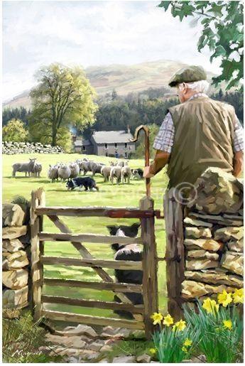 Spring Fields by Richard Macneil.