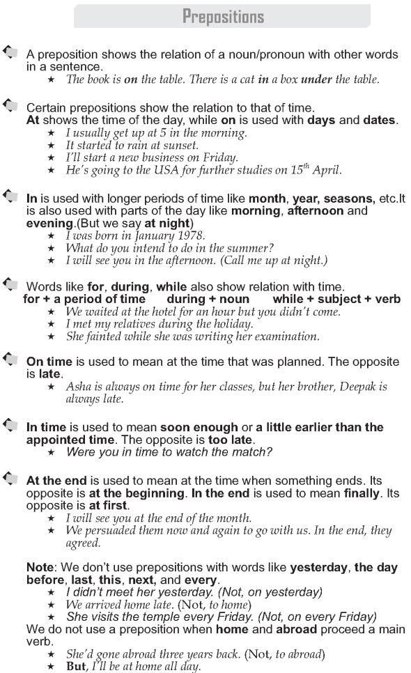Image result for Prepositions with images to share prepositions - code of conduct example